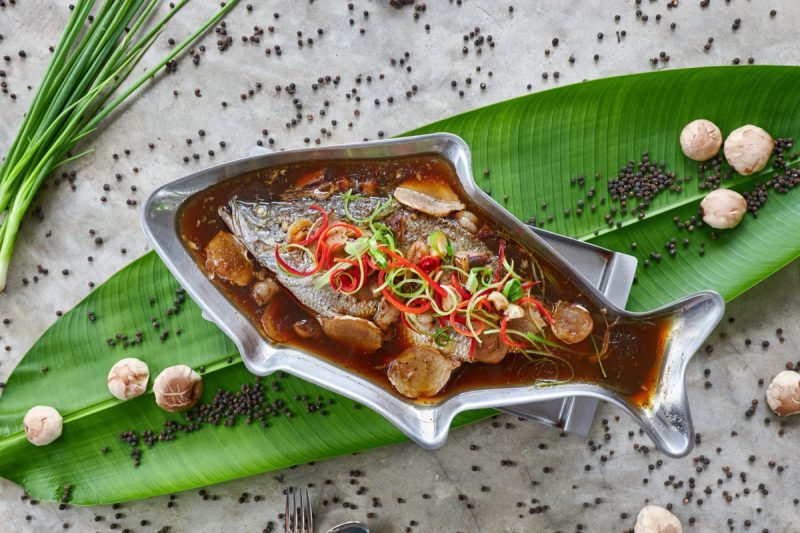 White Snapper with Soya Sauce